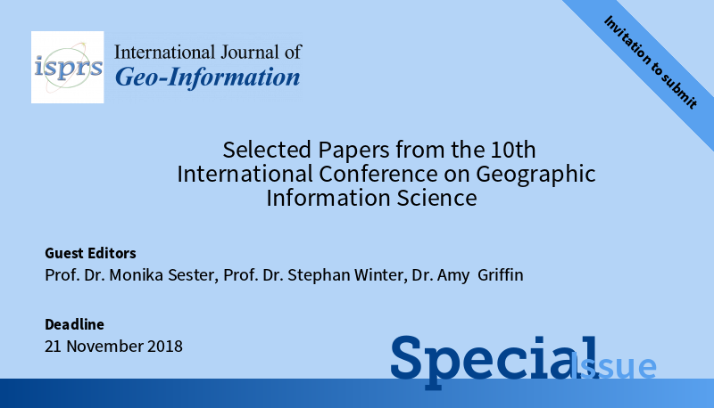Martin tomko giscience 2018 cfp selected papers from the 10th international conference on geographic information science isprs ijgi special issue stopboris Image collections